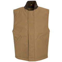 UNFVD22BD-RG-S - Red KapMens Blended Duck Insulated Vest