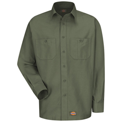UNFWS10OG-RG-3XL - Wrangler WorkwearMens Work Shirt