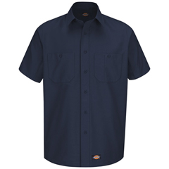 UNFWS20NV-SS-L - Wrangler WorkwearMens Work Shirt