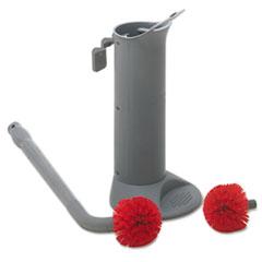 UNGBBWHR - Ergo Toilet Bowl Brush System with Holder