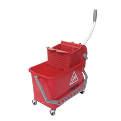 UNGCOMSR - Side-Press Restroom Mop Bucket Combo
