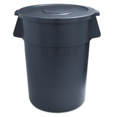 UNS32GLWRGRA - Round Waste Receptacle