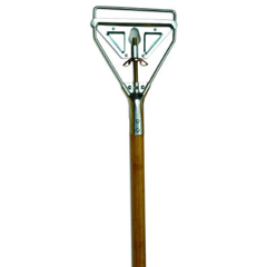 UNS603 - Screw Clamp Metal Head Mop Handle