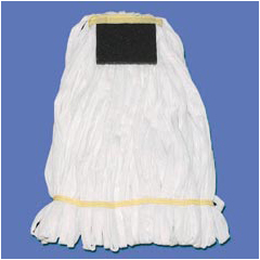 UNS7003 - Anti-Skid Floor Looped Mop Head with Scrub Pad