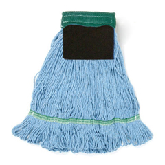 UNS902BL - Loop-End Mop with Scrub Pad