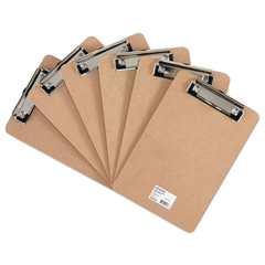 UNV05561 - Universal® Hardboard Clipboard with Low-Profile Clip