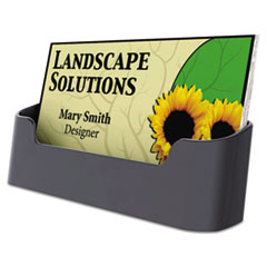 UNV08109 - Universal® Recycled Plastic Business Card Holder