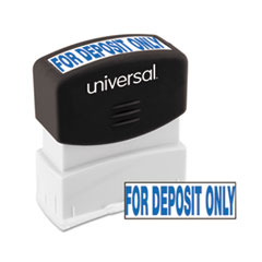 UNV10056 - Universal® Pre-Inked One-Color Stamp