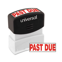 UNV10063 - Universal® Pre-Inked One-Color Stamp