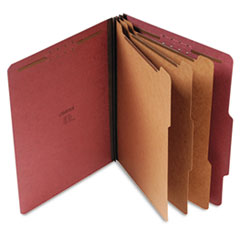 UNV10290 - Universal® Four-, Six- and Eight-Section Classification Folders