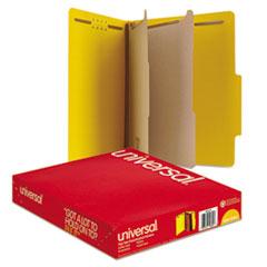 UNV10304 - Universal® Bright Colored Pressboard Classification Folders