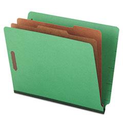 UNV10317 - Universal® Six-Section Colored Pressboard End Tab Classification Folders