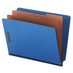 UNV10318 - Universal® Six-Section Colored Pressboard End Tab Classification Folders