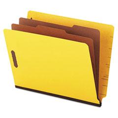 UNV10319 - Universal® Six-Section Colored Pressboard End Tab Classification Folders