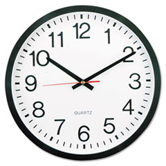 "UNV10431 - Universal® 12 1/2"" Round Wall Clock"