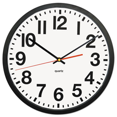 UNV10450 - Universal One™ Large Numeral Clock