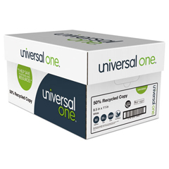 UNV20050 - Universal® 50% Recycled Copy Paper