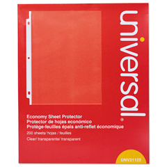 UNV21123 - Standard Sheet Protector