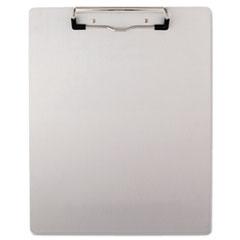UNV40303 - Universal® Brushed Aluminum Plastic Clipboard