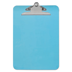 UNV40307 - Universal® Plastic Clipboard with High Capacity Clip
