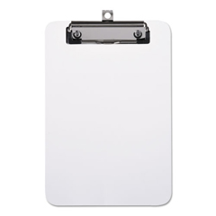 UNV40312 - Universal® Plastic Clipboard with Low Profile Clip