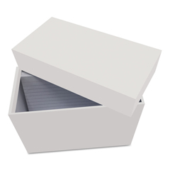 UNV47280 - Universal® Index Card Box with Ruled Index Cards