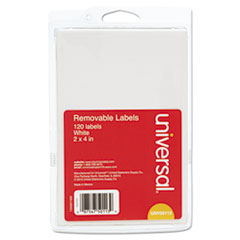 UNV50113 - Universal® Self-Adhesive Removable ID Labels