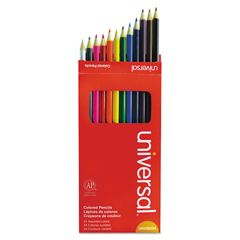 UNV55324 - Universal® Woodcase Colored Pencils