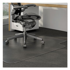 UNV56806 - Universal® Cleated Chair Mat for Low/Medium Pile Carpets