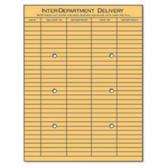 UNV63568 - Universal® Light Brown Kraft String & Button Interoffice Envelope
