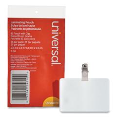 UNV84610 - Universal® Laminating Pouches