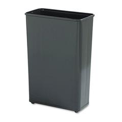 RCPWB96RBLA - Fire-Safe Steel Rectangular Wastebaskets