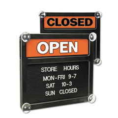 USS3727 - Headline® Sign Double-Sided Open/Closed Sign
