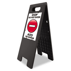 USS5694 - U. S. Stamp & Sign® Customizable Floor Tent Sign
