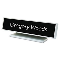 USS5701 - Identity Group Architectural Desk Sign with Name Plate