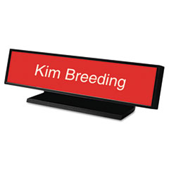USS5703 - Identity Group Architectural Desk Sign with Name Plate