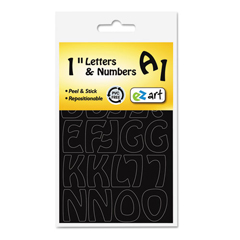USS6147 - Identity Group EZ Art Repositionable Letters and Numbers