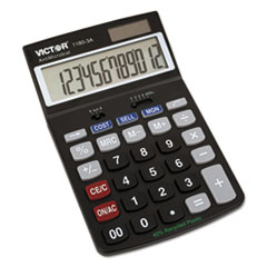 VCT11803A - Victor® 1180-3A AntiMicrobial 12-Digit Desktop Calculator