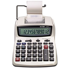 VCT12082 - Victor® 1208-2 Two-Color Compact Printing Calculator