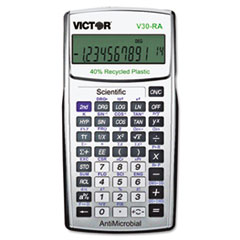 VCTV30RA - Victor® V30RA Scientific Recycled Calculator with AntiMicrobial Protection