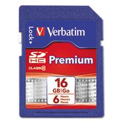 VER96808 - Verbatim® Premium SDHC Cards