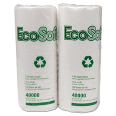WAU40000 - EcoSoft Household Roll Towels