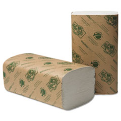 WAU47300 - EcoSoft Green Seal Folded Towels