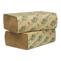 WAU48000 - EcoSoft Folded Towels, Natural
