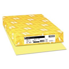 WAU82333 - Neenah Paper Exact® Vellum Bristol Cover Stock