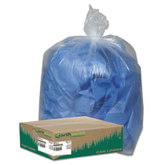 WBIRNW4015C - Earthsense® Commercial Linear Low Density Clear Recycled Can Liners
