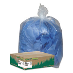WBIRNW4615C - Earthsense® Commercial Linear Low Density Clear Recycled Can Liners