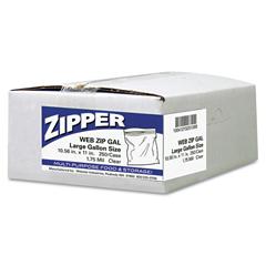 WBIZIP1GS250 - Handi-Bag® Resealable Clear Plastic Storage Bags