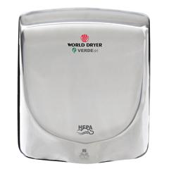 WDRQ-972A - World DryerVERDEdri™ Hi-Speed Surface-Mounted ADA Compliant Hand Dryer