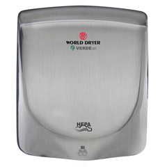 WDRQ-973A - World DryerVERDEdri™ Hi-Speed Surface-Mounted ADA Compliant Hand Dryer